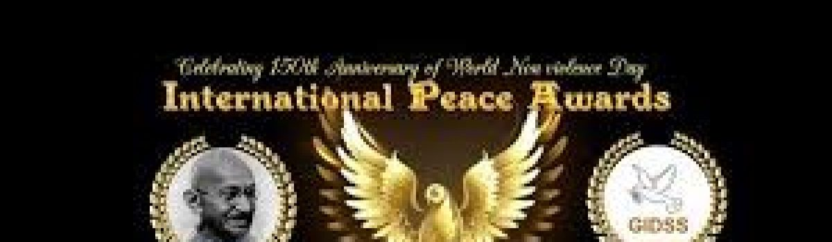 ISAND nominated for 2020 International Peace Award